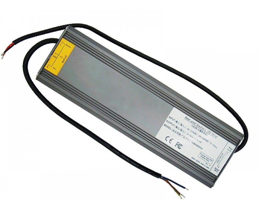 IP67 Waterproof Aluminum 200W LED Driver DC 38V-46V 4.5A Lighting Transformers