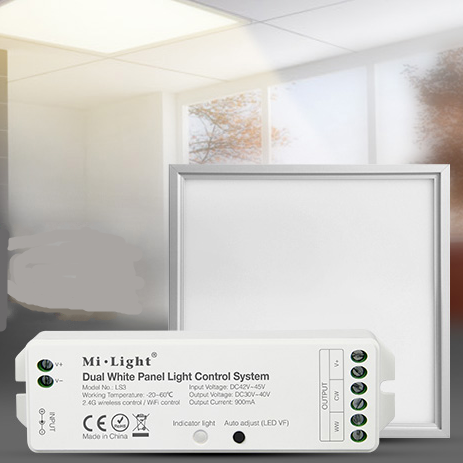 MiLight LS3 Dual White Panel Light Control System