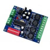 DC5-36V 4CH RGBW dmx Controller DMX512 decoder WS-DMX-HLB-4CH-700MA