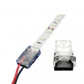 10pcs 2pin 3pin 4pin 5pin 8mm 10mm 12mm LED Strip Connector RGB RGBW Color 3528 5050 5630 LED Strip wire Connection Terminals