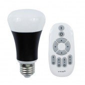 10W E27 LED Color Temperature Adjustable Bulb 2.4G Wireless Remote Control