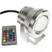10W Underwater RGB LED Flood Light Landscape Project Light
