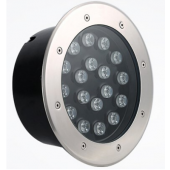 18W High Power LED Inground Lighting IP65 RGB/R/G/B/W Optional Lamp