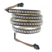 1M 3.3ft 144LEDs WS2813 Addressable 5050 LED RGB Pixel Strip Light
