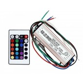 20W RGB LED Driver Output 12V-22V 270mA Input AC 90V-265V IP67 Waterproof Lighting Transformers