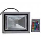 20W RGB LED Flood Light Outdoor Security Floodlight Lamp Waterproof