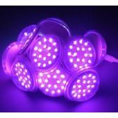 LED Pixel Light 18LEDs 5050 DC24V IP65 UCS2903 IC Addressable RGB