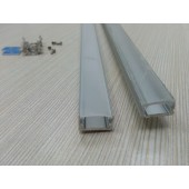 2M Aluminium LED Profiles Fitting Extrusion Strip Light Channel