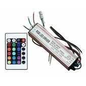 30W RGB LED Driver Output 28V-35V 270mA Input 90V-265V IP67 Waterproof Lighting Transformers