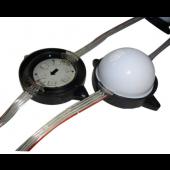 56mm Diameter WS2811 Pixel Module Injection 6LEDs DC12V IP68