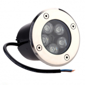 5W LED Underground Light 30 Degree Beam Angle R/G/B/W Optional Lamp