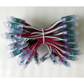 5V 12mm WS2811 Intelligent RGB Pixels IP68 Waterproof LED Light String