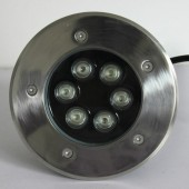 6W LED Inground Light IP65 Waterproof RGB/R/G/B/W Optional Lamp