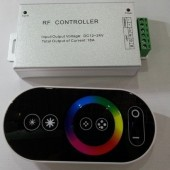8 Keys RF Touch Remote 3Ch RGB LED Controller 18A 12V 24V