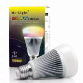8W Mi.light RGBWW LED Bulb RGB+Color Temperature 2.4G FUT015 Lamp