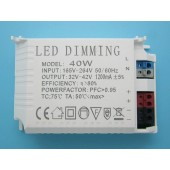 10W Led Dimming Dimmer Input 165V-264V Output 32V-42V 1200MA Led Controller For Led Strip Lamp Light