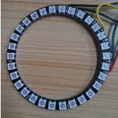 30LEDs SK6812 RGB Addressable Ring DC5V RGB Round LED Pixel