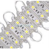 40pcs 2LEDs SMD 5050 LED Module Waterproof String Light DC 12V