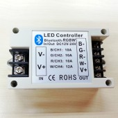 Bluetooth LED RGBW Controller DC 12V 24V 42A via IOS Android Device