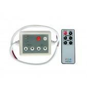 LED RGB Controller DC 5V 6V 12V 24V With 6 Key Infrared IR Remote Control For RGB LED Light