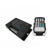 LT-3800-6A DIY Programable LED RGB Controller 5V-24V 18A RF Remote Strip Lighs