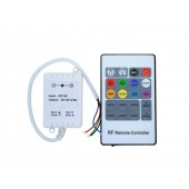 RGB LED Controller DC 5V 6V 12V 24V 3 Channel 2A Ch With 20 Key RF Remote Control