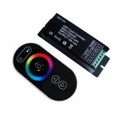 RGB LED Controller 3 Channels 6A/Ch DC 12-24V With RF Touch Panel Control