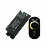 LED CCT Color Temperature Controller DC 12-24V 2Channel 6A/Ch with RF Touch Panel Remote Control