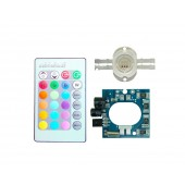 DC 6v-11v 300mA 10W RGB LED Driver With Remote Control For 10W RGB LED Lights