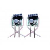 10pcs DC 2v-4v 350mA 1W LED Driver For 1w 3x1w LED Light Input AC DC 12v