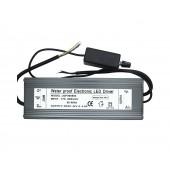 200W Dimable Waterproof IP67 LED Driver Output DC 42V-46V 4500mA Input AC 170V-265V