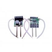10pcs DC 2v-4v 700mA 3W LED Driver for 3w LED Light Input AC DC 12V Power Supply