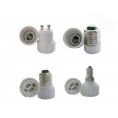 GU10 E27 E14 Led Bulb Base Socket Adapters 10 Pcs