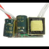 DC3-14V 300ma 4W 5W LED Driver Transformer Power Supply For Bulb Lamp 10pcs