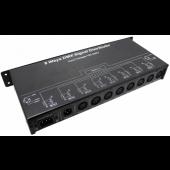 Signal Distributor Output 8channels DMX128 LED Controller