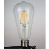 E27 4W 6W 8W Classical Vintage Filament Edison LED Bulb Warm White Lamp 3pcs