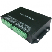 H801RC 8 Ports Salve LED Pixel Computer Network Marster Controller Drive