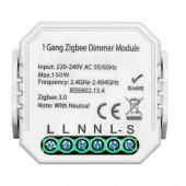 Smart ZigBee Dimmer Switch Module 1gang 2gang With Neutral 2 Way Wireless Control Switch Relay Support Zigbee2MQTT