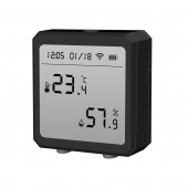 Smart WIFI Temperature And Humidity Sensor Indoor Hygrometer Thermometer With LCD Display Support Alexa Google Assistant