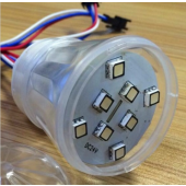 High Cup Type Addressable Pixel Light 9LEDs 5050 12V IP65 UCS2903 IC
