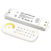 New Led Color Temperature Controller T2 Touch Remote 2.4GHz 12V 24V T3 CV 18A Constant Voltage T3 CC Constant Current Receiver