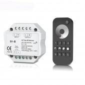 S1-B Led Triac Dimmer AC 100-240V Input voltage Output 100-240V 2.4GHz RF Wireless Remote RT6 4 zone Led Dimmer Controller