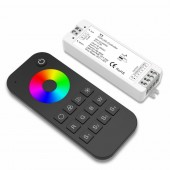 New Led RGB Strip Controller 12V 24V RT4 RF Wireless Remote With 2.4GHz V3 Receiver 4A 3CH output LED Dimming RGB Controller