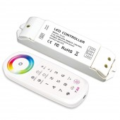 New Ltech T3X 2.4G LED RGB Controller RF Remote 8 Zone LED Strip Panel Lighting RF Wireless Sync zone RGBW Controller
