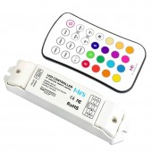 New LTECH M6 M3 3A Led RGB strip Controller 12V 24V 3A 3CH 9A Output RF remote Wireless Touch Panel RGB Led Strip Controller