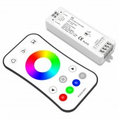 V3 and R8 1 Led RGB Strip Controller R8 1 Remote With 2.4GHz V3 Receiver DC12V 24V input 4A 3CH output LED Dimming RGB Controller