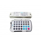 LTECH SPI-16 M16 Mini Colorful Dream Color Led Strip Light RF RGB Controller DC 5V-24V With Remote Control Fo