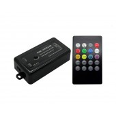 144W Music 2.0 LED Controller 4 Model 3 Channel DC 12C-24V 20Key Infrared Remote Contr