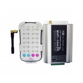 2.4G Wireless WIFI RGB Controller WF104 DC 12V-24V Max 384W With 28 Keys Remote Control 100M Distance