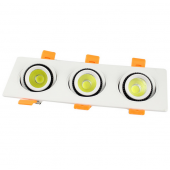 LED Bulb 3X5W COB Ceiling Downlight Recessed Wall Lamp Spot Light